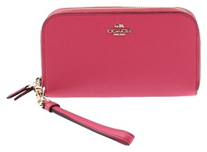 Coach Coach F53891 Carmine Double Zip Accordion Wallet/ Wristlet