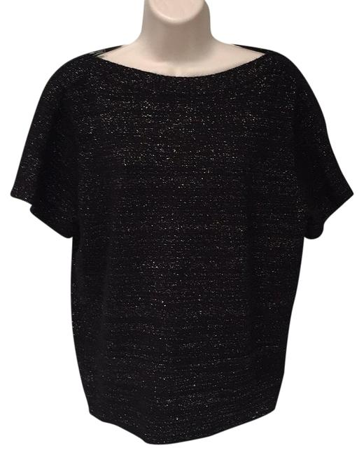 Preload https://item1.tradesy.com/images/marc-by-marc-jacobs-black-with-metallic-subtle-weave-sweaterpullover-size-12-l-1798700-0-2.jpg?width=400&height=650