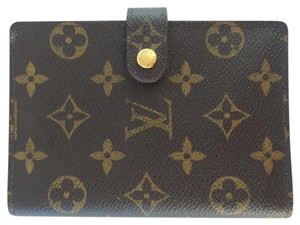 Louis Vuitton Agenda Notebook Cover w Note & Address/Name Paper