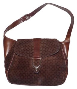 Gucci Print Equestrian Accents Replaced Snap Shoulder Bag