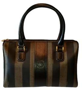 Fendi Satchel in Black and Brown