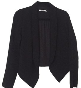 Bailey 44 Ruffle Formal Party Chic Holiday black Jacket