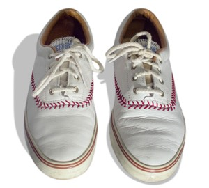 Keds White with red Athletic