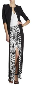 BCBGMAXAZRIA Maxi Skirt Black and White