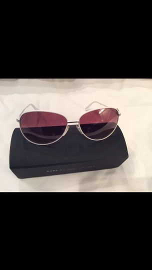 Marc by Marc Jacobs Marc By Marc Jacobs 60mm White Frame Aviators