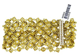 Other 18K Yellow Gold 6.16Ct Diamond Bracelet 52.5 Grams 7