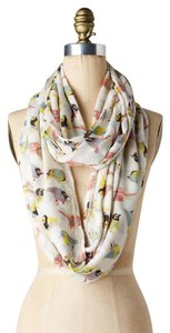 Anthropologie Anthropologie Ornithology Bird Print Infinity Scarf