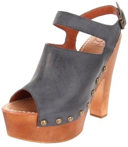 J. Litvack Blue Wedges