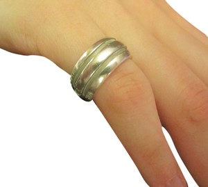 Tiffany & Co. Tiffany & CO Atlas groove Ring Sterling Silver SZ 50 US 5.25