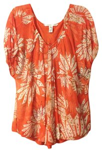 Diane von Furstenberg Top Orange