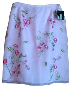 David Brooks Skirt Pink