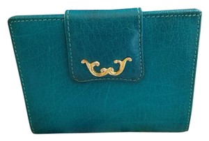 Bond Street FINAL SALE! VINTAGE BOND STREET TEAL LEATHER BIFOLD