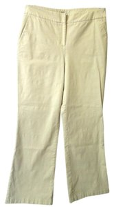 Chico's Pockets Relaxed Pants beige