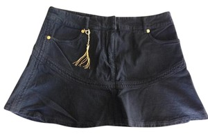 Roberto Cavalli Mini Skirt Black
