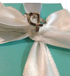 Tiffany & Co. Tiffany & Co Silver Loving Heart Ring