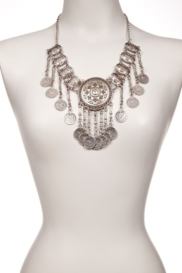 Other Eye Candy Los Angeles Dangle Coin My Neck Necklace