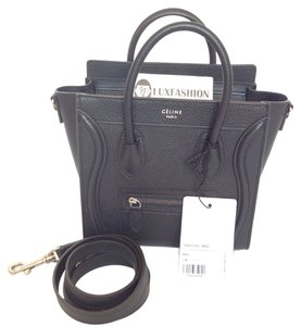 Céline Nano Tote Luggage Mini Micro Phantom Trapeze Tie Knot Belt Cross Body Bag