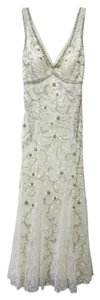 Sue Wong Beading Floral Dress