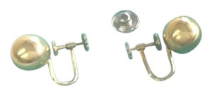 Tiffany & Co. Tiffany & Co Ball Earrings in 14K Solid Yellow Gold With Screw Back