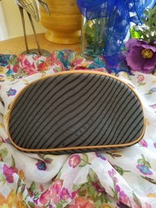 Mark Cross Rare Vintage Mark Cross Jaquard cosmetic pouch