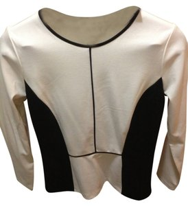 Ann Taylor Peplum Color-blocking Top
