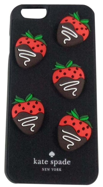 Item - Brown/Red/Green/White Wiru0442 Chocolate Covered Strawberries Silicone Iphone 6 Tech Accessory