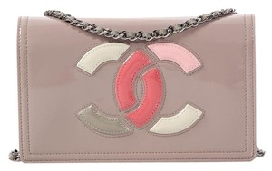Chanel Cc Ch.k0607.03 Patent Leather Cross Body Bag