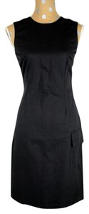 Club Monaco short dress Black Sheath Cocktail Cotton on Tradesy