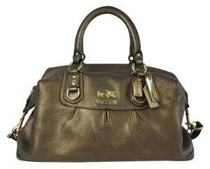 Coach Wallet/bag Set Satchel in Bronze