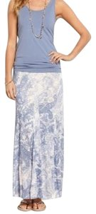 Tommy Bahama Maxi Skirt Blue White