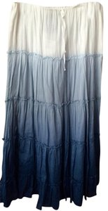 Rugby Ralph Lauren Maxi Skirt Blue White