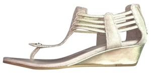 Donald J. Pliner Silver Wedges