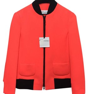 Valentino Bright Red/Orange Jacket