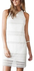 Ann Taylor LOFT short dress White, Ivory on Tradesy