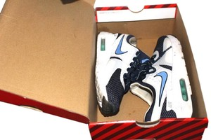 Nike Air Max New Drop WHITE/RIFT BLUE/HYPER JADE/MIDNIGHT NAVY Athletic