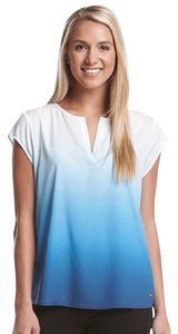 Ivanka Trump Top Blue white
