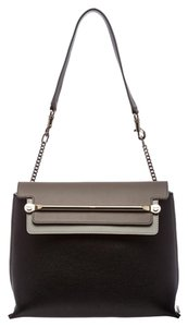 Chlo Chloe Leather Tricolor Shoulder Bag