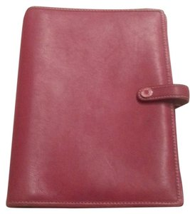 Coach Coach Red Leather Folio Cover