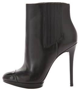 B Brian Atwood Leather Black Boots
