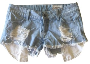 Siwy Cut Off Shorts Light wash