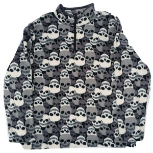 Old Navy Skulls Halloween Fleece Boys Sweatshirt