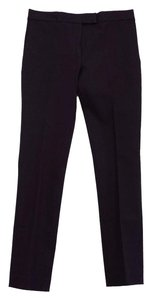 Joseph Dark Purple Finley Gabardine Trouser Pants