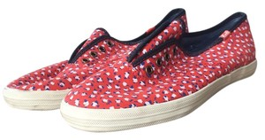 Keds Red floral Athletic