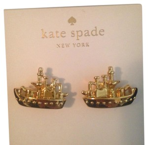 Kate Spade New With Tags! Cruise Liner Earrings!