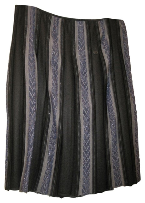 Chanel Collector's Skirt Blue multi Image 1