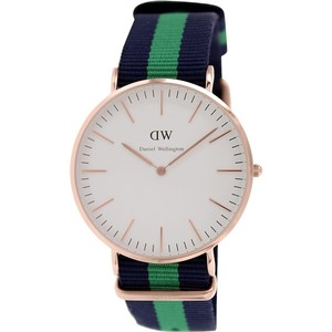 Daniel Wellington Daniel Wellington Male Warwick Watch 0105DW Rose Gold Analog