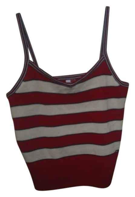 Tommy Hilfiger Red/ White/ Blue Halter Top