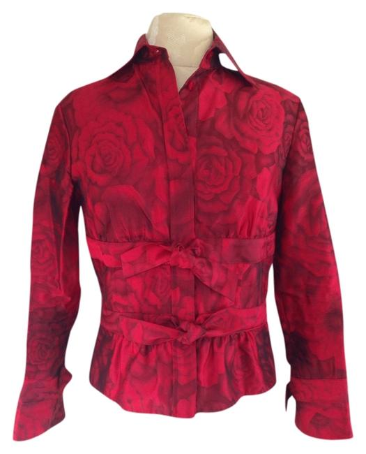 Item - Red Blouse Size 0 (XS)