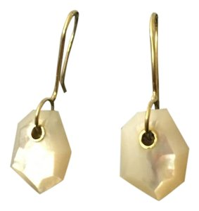 Ippolita Rock Candy faceted mother of pearl earrings
