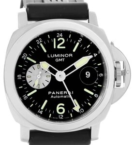 Panerai Panerai Luminor GMT Rubber Strap Automatic Mens Watch PAM00088